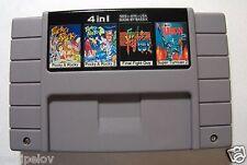 Pocky & Rocky+ Pocky & Rocky 2+ Final Fight Guy+ Super Turrican 2 SNES NTSC 4IN1