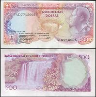SAO TOME AND PRINCIPE BANKNOTE 500 DOBRAS - P.61a 04.01.1989 UNC