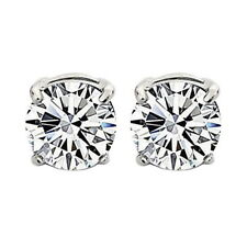 2PCS UNISEX CLEAR CRYSTAL MAGNET EAR CLIP MENS EARRING STUD NON-PIERCING WOME WS