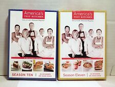 America's Test Kitchen PBS TV Season 10 & 11  DVD series NEW SEALED IN PACKAGE