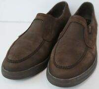Mephisto Womens Brown Nubuck Leather Loafers Size EUR 7.5 US 10 M