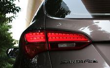 Genuine OEM LED Tail Lights Lamp Assy For 13 14 2015+ Hyundai Santa Fe DM Sport