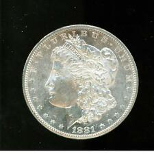 1881 S United States Morgan Silver Dollar Proof Like