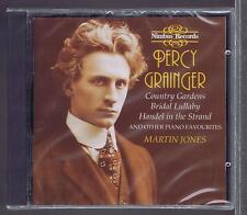 PERCY GRAINGER CD NEW MARTIN JONES