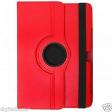 Custodia in Ecopelle Rossa Rotante 360° per Google Asus Nexus 7 2012