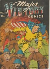 Major Victory Comics 2 Complete, super nice golden age - OW Pages