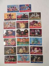VINTAGE DISNEY Gift Card Collection RARE Mickey Ears-PRINCESS-MOVIES-DISNEY PARK