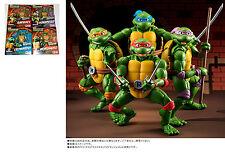 NINJA TURTLES (TMNT) - SH.FIGUARTS BANDAI - FULL SET !!! NEW !! AUTHENTIC !!!
