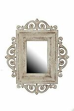 Rectangle French Country Metal Decorative Mirrors