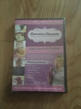 Crafters Companion Decorative Templates Video Tutorials CD-ROM New Sealed