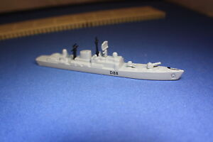HMS GLASGOW D88 Type 1 destroyer  unboxed Limited edition but
