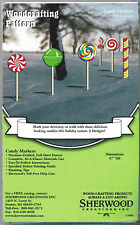 Christmas Candy Yard Art Woodworking Plans by Sherwood Creations
