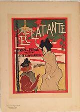 "ROBBE MANUEL ""L'ECLATANTE"" 1898"