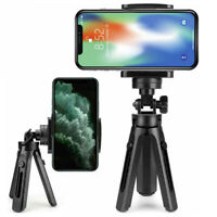 Universal Mini Tripod Stand Grip Mount Holder Cell SmartPhone For iPhone Samsung