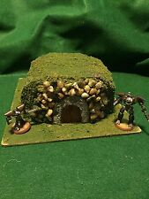 Warhammer 40K Table Top Gaming Miniature Burial Mound/Hobbit Hole Scenery