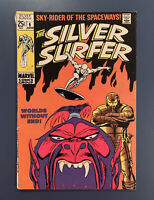 Marvel Comics The SILVER SURFER #6 The Overlord VG-FN