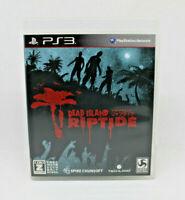 Sony PS3 Playstation - Dead Island Riptide Deep Silver Japanese Version