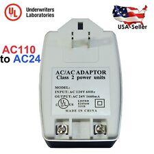 AC 24V 1660mA 40VA Power Transformer Adapter AC110V to AC24V with UL Certified