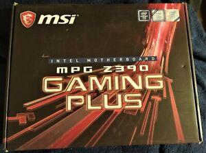 MSI MPG Z390 GAMING PLUS 1151 DDR4 ATX Motherboard