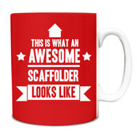 This is what an AWESOME Scaffolder Looks like Mug Gift idea coffee cup 181