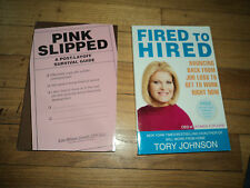Fired To Hired Bouncing Back From Job Loss To Get Work Right Now Tory Johnson