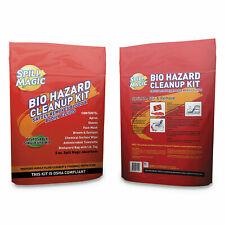 """Spill Magic Biohazard Spill CleanUp, 3/4"""" x 6"""" x 9"""" SMBIOHAZARD"""