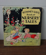 1942 Romney Gay's Book Of Nursery Tales With Dust Jacket DJ Color Plates