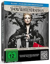 SNOW WHITE AND THE HUNTSMAN (Kristen Stewart) Blu-ray Disc, Steelbook NEU+OVP