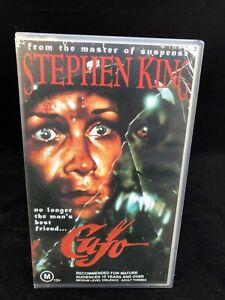 STEPHEN KING CUJO VHS