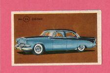 Dodge Vintage 1950s Car Collector Card from Sweden