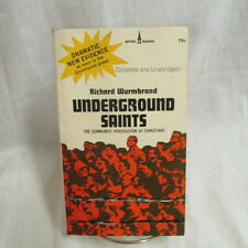 Underground Saints Richard Wurmbrand Communist Persecution Christians PB