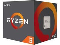 AMD Ryzen 3 1200 Quad-core (4 Core) 3.10 GHz Processor Retail Pack 8 MB Cache W