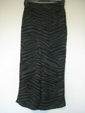 Whistles green and black striped trousers size 8