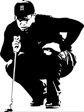 Sticker Golf Tiger Woods - 57x76 cm