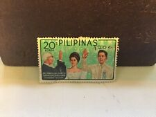 Philippines 1965 President Marcos Stamp Emerald Green