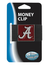Alabama Crimson Tide Stainless Steel Money Clip NCAA Licensed
