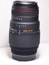 Sigma APO DG 70-300 mm Macro Zoom Wildlife Lentille Pour Sony A77 A700 A580 A55 A58