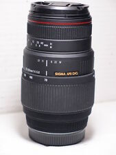 Sigma APO Zoom Macro 70-300 mm DG Fauna Selvatica LENTE PER SONY A77 A700 A580 A55 A58