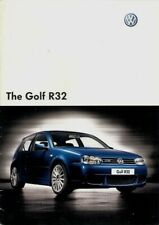 Volkswagen Golf R32 3.2 V6 Mk4 2003-2004 UK Market Sales Brochure