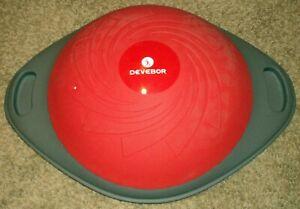 DEVEBOR Balance Ball and Core Trainer Home Exercise Half Ball Balance Training