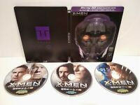 X-Men: Days of Future Past Steelbook Combo Blu-ray 3D+Blu-ray+DVD  - Comme neuf