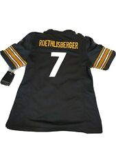 Pittsburgh Steelers Ben Roethlisberger Nike On Field Jersey Youth M