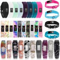 Silicone Replacement Watch Band Wrist Strap for Garmin Vivofit 1/2/3 Tracker AU