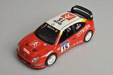J645 IXO/Altaya 1:43 2001 Citroën Xsara WRC #15 Puras & Marti A+/-