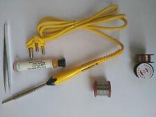 6 In 1 Branded SOLDRON Professional Quality 25 Watt Soldering Iron 230 Volt Kit