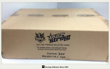 2011 Select NRL Strike Trading Cards Factory Sealed Case (12 Boxes + Case Card)