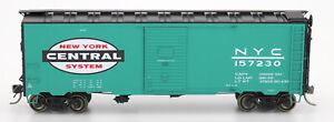 Intermountain HO-Scale 40ft AAR 40ft Box Car - New York Central/NYC Jade Green