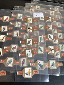 Alto 1966 Cigar Bands BIRDS - Series Of 48 VG