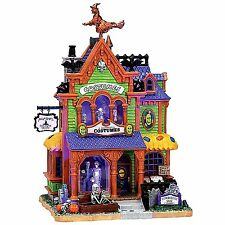 Lemax 75494 AGATHA'S COSTUME CRYPT Spooky Town Building Halloween Decor I