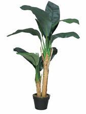 Plátanos artificial árbol verde en maceta h:120cm arte planta/- árbol plátanos planta